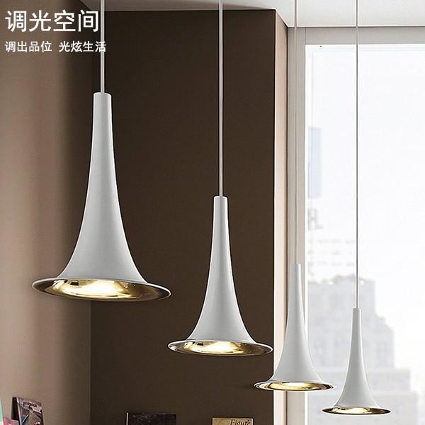 modern tulip droplight sitting room light dining-room furniture store pendant light
