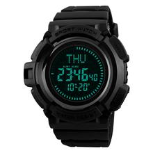 SKMEI Compass Student Electronic Watch Men's Summertime World Time Outdoor Sports Waterproof Outdoor Military Watch Men Relogio(China)