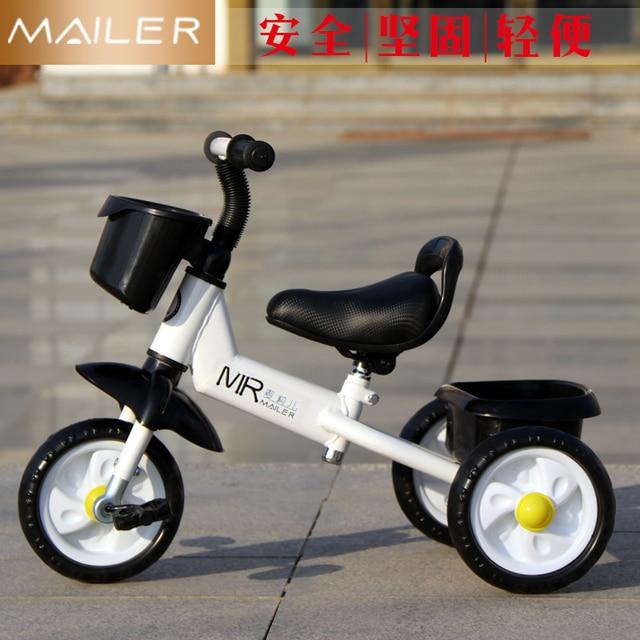 Children Three Wheel Balance Bike Kids Scooter Baby Walker 1 3 Years