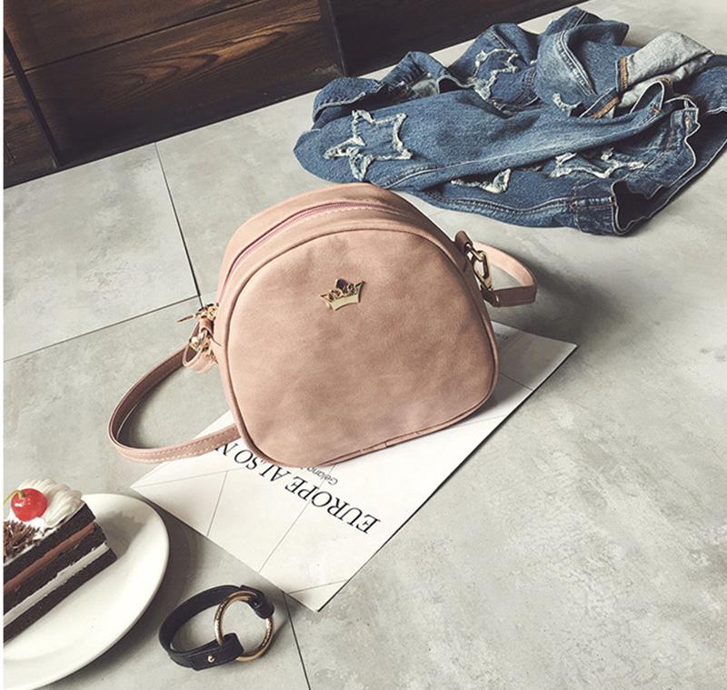 Mara's Dream 2019 Fashion Women Handbag Messenger Bags PU Leather Shoulder Bag Lady Crossbody Mini Bag Female Crown Evening Bags 3