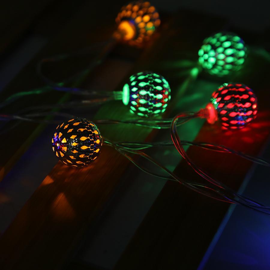 Cikonielf сказочные огни 2,5 м 20 светодиодный энергосберегающий теплый светильник для внутреннего наружного освещения спальни лужайки ландшафтного сада домашнего декора