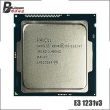 Intel Xeon E3-1231 v3 E3 1231 V3 E3 1231V3 3.4 GHz Quad-Core CPU Processor 8M 80W  LGA 1150