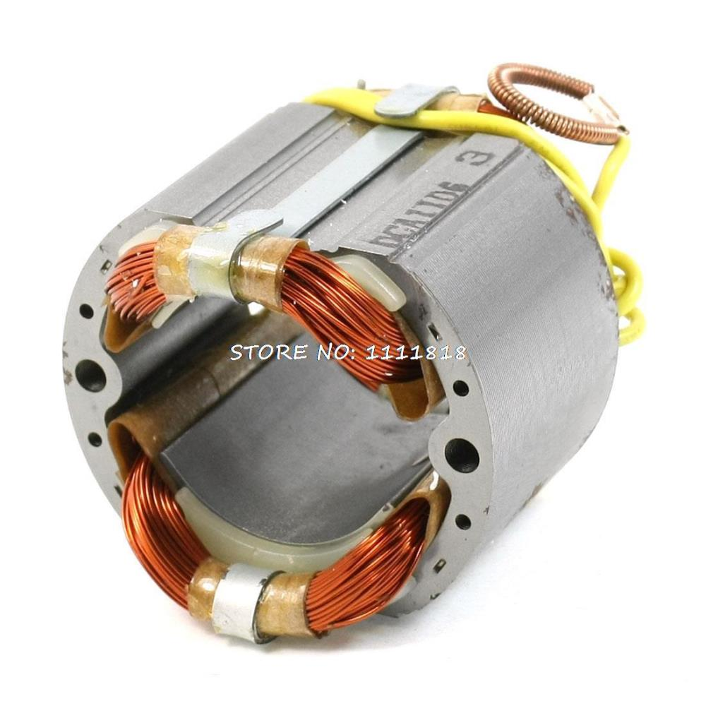 цена на AC 220V 42mm Core 4 Cables Replacement Electric Motor Stator for Hitachi C-7