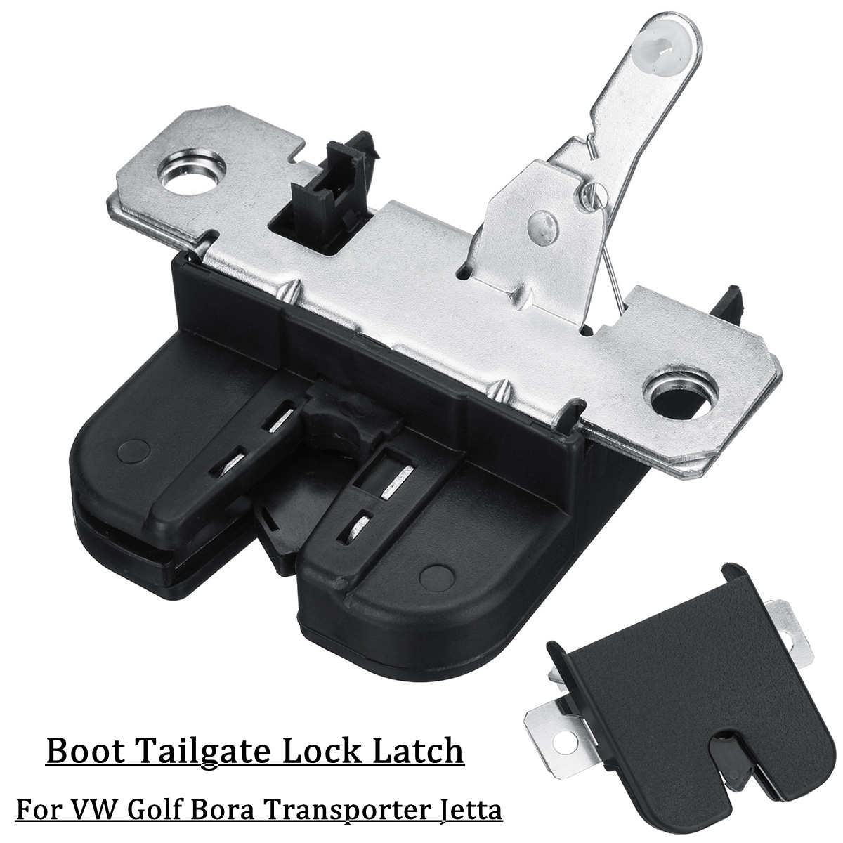Boot Tailgate Trunk Lock Latch For VW Golf IV Bora Transporter Caddy Jetta Touareg 1J6827505B 1J9827505 6Q6827505E 6L6827505ABoot Tailgate Trunk Lock Latch For VW Golf IV Bora Transporter Caddy Jetta Touareg 1J6827505B 1J9827505 6Q6827505E 6L6827505A