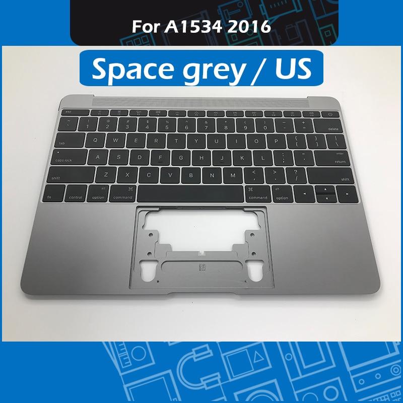 Space Grey 613-02547-A A1534 Topcase Palmrest for Macbook Retina 12