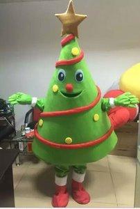 Image 3 - Christmas Tree Mascot costume Birthday Party Dress Halloween adult mascot costume mascotte costume hot sale