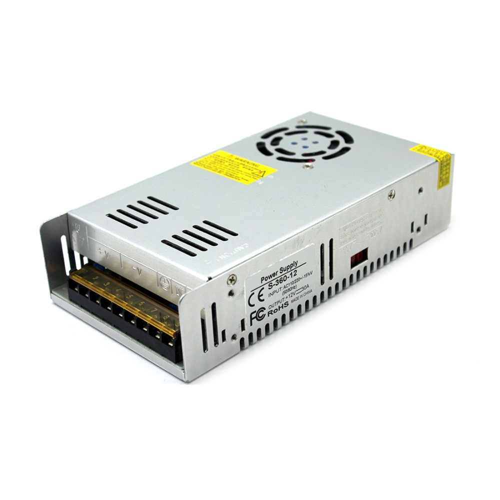 Single Output 12 V 24 V 36 V 48 V DC Power Supply 300 W 360 W 400 W 480 W 600 W 800 W 1000 W 1200 W 1500 W Lampu Transformer untuk Lampu LED