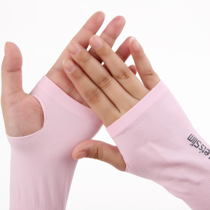 New Fashion Ice Silk Women Sexy Gloves Female Long Sunscreen Summer Driving Gloves Ladies Spring Mittens Opear Elegent Mittens