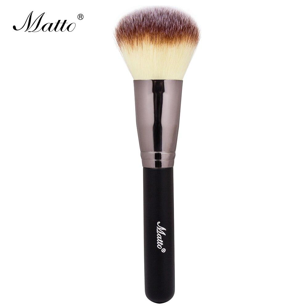 Fluffy blush brush