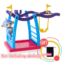 The Swing Shelf For Fingerlings Interactive Baby Monkeys Christmas Gift Toy For Kids