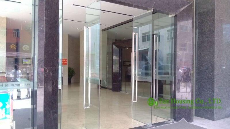 12mm vidrio templado comercial puertas de vidrio sin marco ...