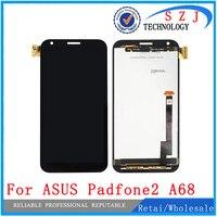 מקרה חדש 4.7 inch תחליף לasus A68 Padfone 2 השני מסך מגע Digitizer תצוגת LCD LensAssembly משלוח חינם