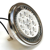 הוביל אור הזרקורים AR111 כתם אור QR111 G53 נהג חיצוני 15 W CREE LED 90-240 V 3000 K/4000 K/6000 K שווה ערך ל 100 W מנורת הלוגן