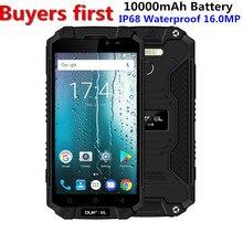 "Oukitel k10000 Max IP68 Водонепроницаемый 10000 мАч Мобильный телефон 5.5 ""FHD mtk6753 Octa core android 7.0 Оперативная память 3 ГБ встроенная память 32 ГБ 16mp смартфон"