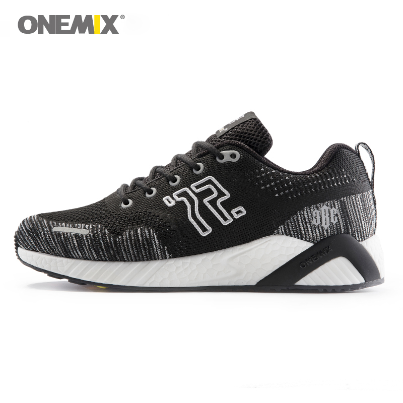 Onemix Men's Running Shoes Women Sport Sneakers Unisex Jogging Sneakers Tranier for walking Outdoor trekking jogging shoes 1238