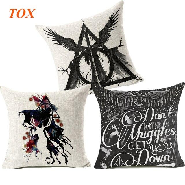 TOX Harry Potter Style Fodere per Cuscini 45x45 cm alce cassa del Cuscino Decora