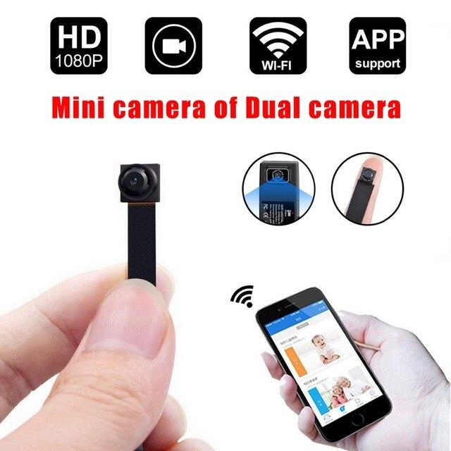 HD 1080P DIY Portable WiFi IP Mini Camera P2P Wireless ...