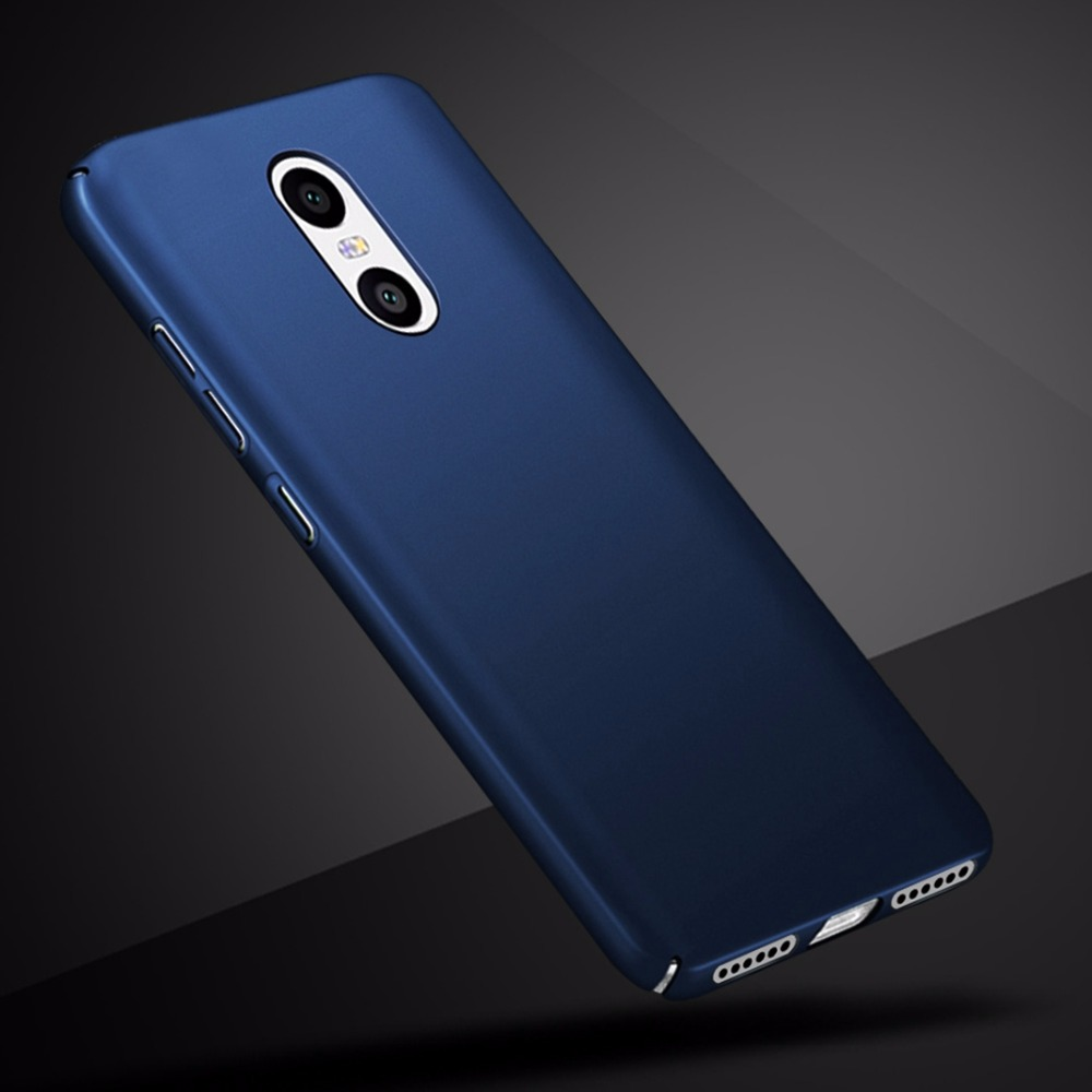 Luxury Plastic Case For Redmi 4x Xiaomi Aluminium Bumper Mirror Note 4 Hard Back Casing Note4x 5a 5 Plus Pc 360 Full Cover Protective Shell Skin