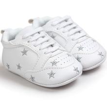 2018 Горячая новорожденного кроссовки для маленьких мальчиков для маленьких девочек обувь Schoenen первые ходоки Мокасины Zapatos Sapatos Chaussures De Bebe