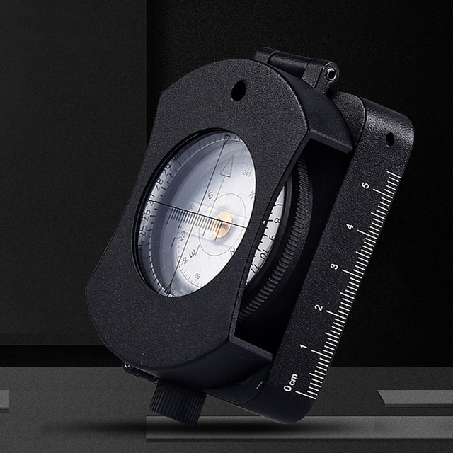 [NEW]Eyeskey Professional Waterproof Led Lamp Map Measurement Compass Survival Compass, Military Grade(with battery)