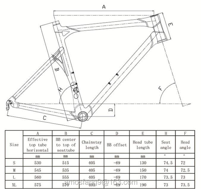 Free shipping Full Carbon Fiber Racing BMC Impec Carbon Frame,Impec ...