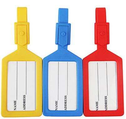 hot selling luggage tags genuine leather tags can with hot stamps