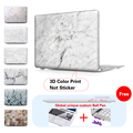 Marble Texture Laptop Accessories Hard Cases Cover For Macbook Pro 13 Case Pro 13 15 Retina Hp Laptop Protector Shell Skin