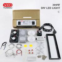 New arrival CREE CXB3590 diy led grow lamp kit 200W 300W COB Dimmable LED Grow Light Full Spectrum warm white 3000K 3500K 5000K