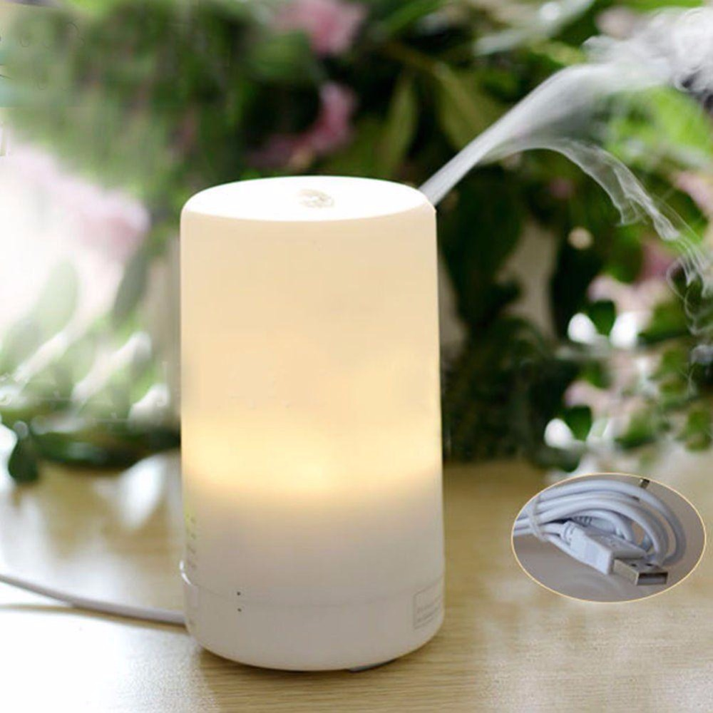 LED Essential Ultrasonic Humidifier Aroma Air Aromatherapy Diffuser Purifier