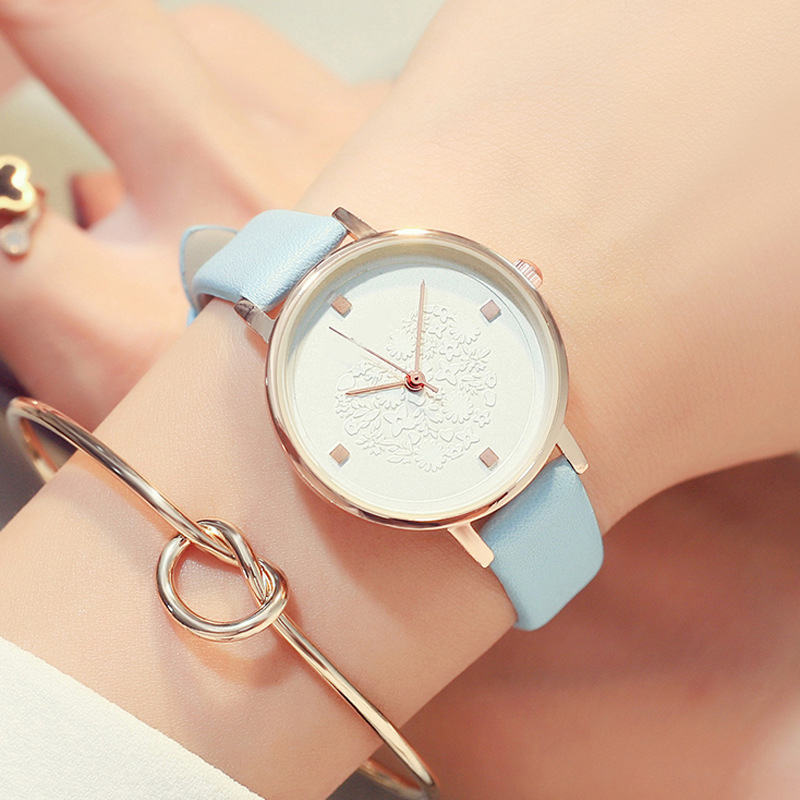 <font><b>Fashion</b></font> <font><b>Unisex</b></font> <font><b>Montre</b></font> <font><b>Femme</b></font> <font><b>Reloj</b></font> <font><b>Mujer</b></font> <font><b>Leather</b></font> Stainless Women's Watch Wholesale Quartz Wrist Watches Women Hot Fast Shipping image
