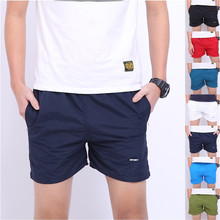 Fashion Men High Quality Basic Cotton Beach Short Pants Casual Shorts Surf Trousers 7 Colors