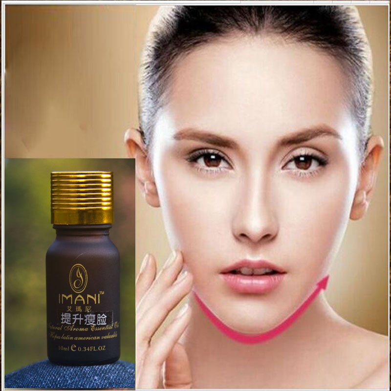 Powerfull 4D V Thin Face Firming Essential Oil Slimming Cream Face Care Skin Removing Double Chin Fat Burning Free Shipping