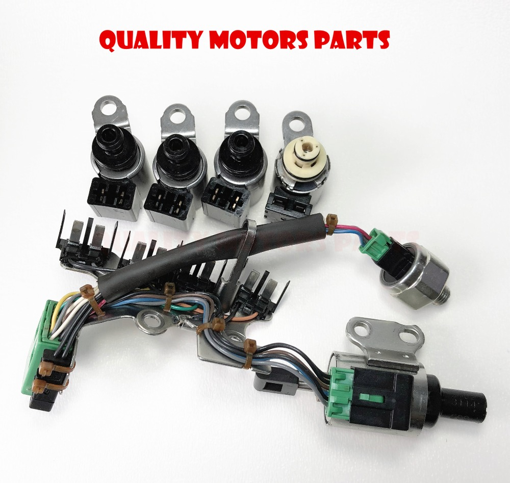 CVT Transmission Solenoids Kit,stepper motor,oil pressure sensor with wire  JF011E/RE0F10A/F1CJA RE0F10E for Nissan Mitsu Dodge-in Automatic  Transmission ...