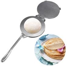 Aluminium Tortilla Maker Press Heavy Duty Meat Foldable Bakeware Kitchen Accessories Tools Silver/Orange Pie Gadgets