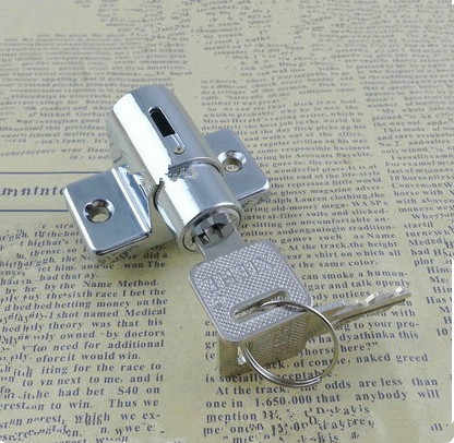 Zinc Sliding Window Patio Screw Door Locking Pin Push Child Safety Lock J24