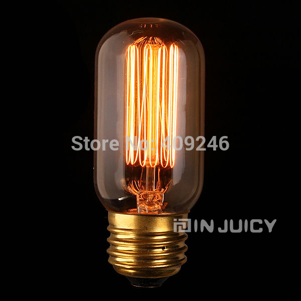 Edison Vintage Retro Industrial Halogen Bulb Light T45