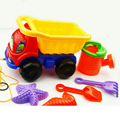 New Kid Toy Car Cheap Plastic Toys 6 Piece Combination Tractor Crane Beach Educational Toys Children Christmas Birthday Gifts