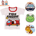 1 Pc de varejo! boysT-camisa de Algodão Crianças dos miúdos T-shirt das meninas do bebê crianças roupas de bebê roupas top for2-5Y b1TST0013