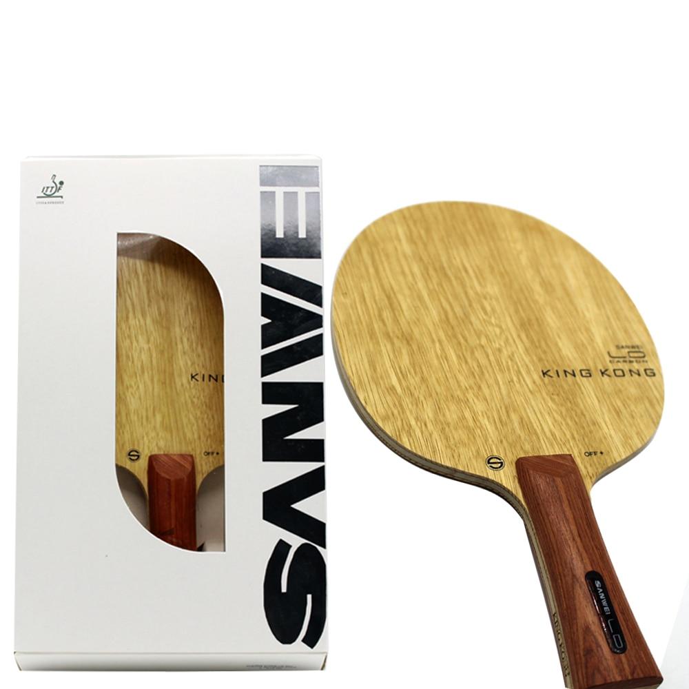High End SANWEI KING KONG Carbon FIBER Strong Power OFF  Table Tennis Blade   ping. Popular Blade Table Tennis Buy Cheap Blade Table Tennis lots from