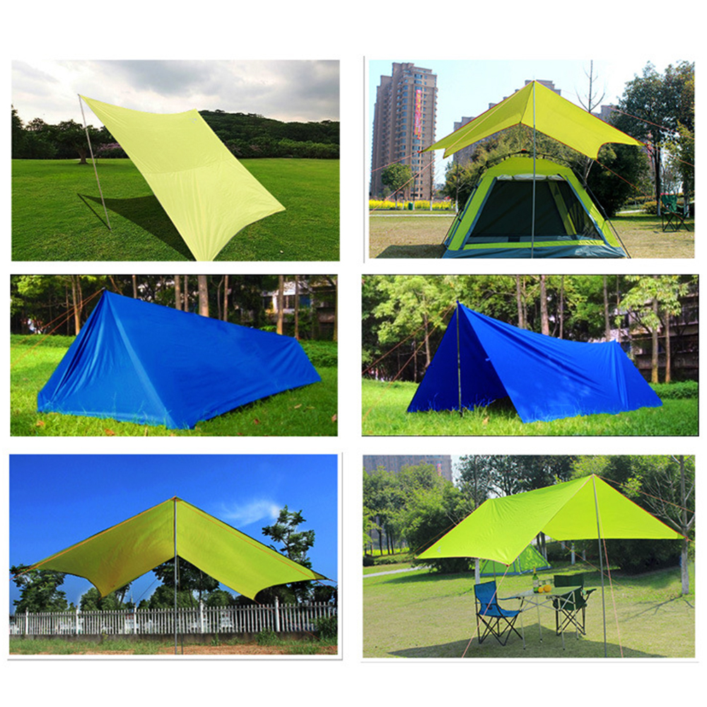 Image 3 - Outdoor Oxford Cloth Waterproof  Pergola Silver Coating Awning Sunscreen Sunshade Beach Tent Sun Shelter Camping Trap-in Sun Shelter from Sports & Entertainment