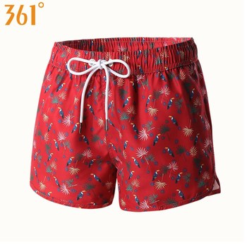 361 Women Beach Shorts  Boardshorts Quick Dry Shorts for Women Surfing Pant Sports Swimming Trunks Female Swimsuit Print Bather 1