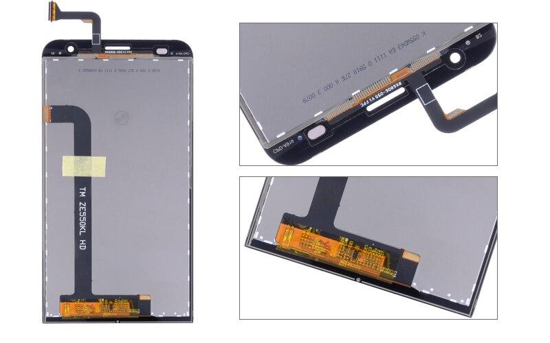 ORIGINAL 5.5 for ASUS Zenfone 2 ZE551KL LCD For ASUS Zenfone 2 Laser ZE550KL LCD Display Touch Screen Digitizer (5)