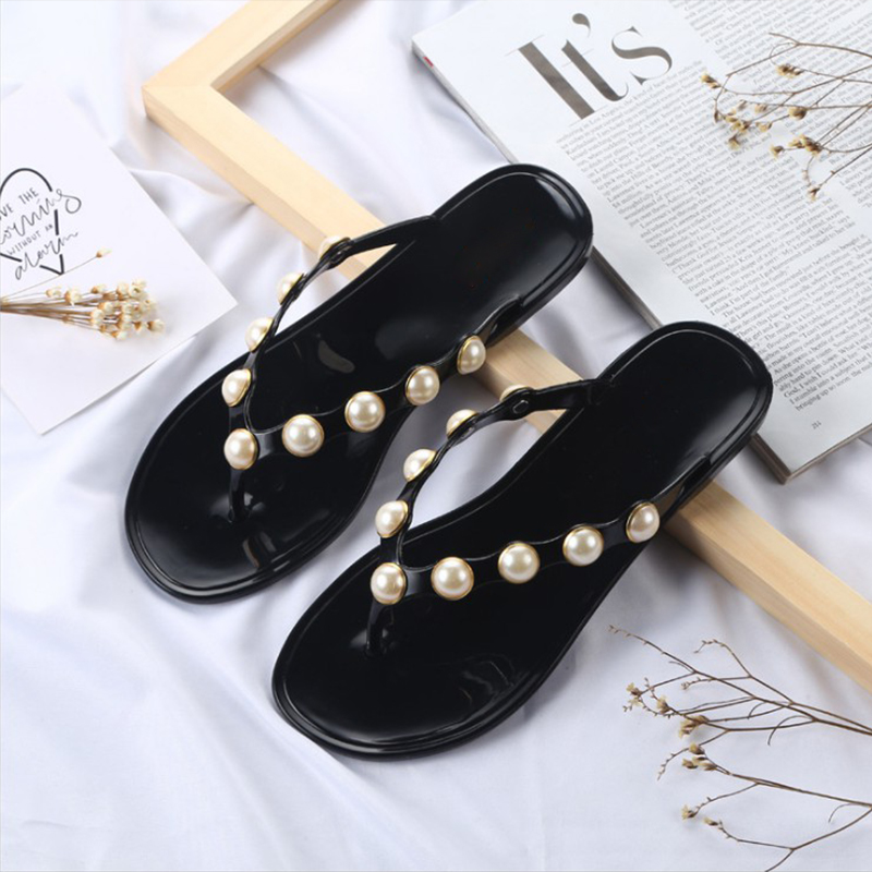 2018 News Women Summer Slippers Flat Casual Flip Flops Solid Shoes Sweet Beach Fashion Ladies Female Slippers Footwear DLD925 sweet women high quality bowtie pointed toe flock flat shoes women casual summer ladies slip on casual zapatos mujer bt123