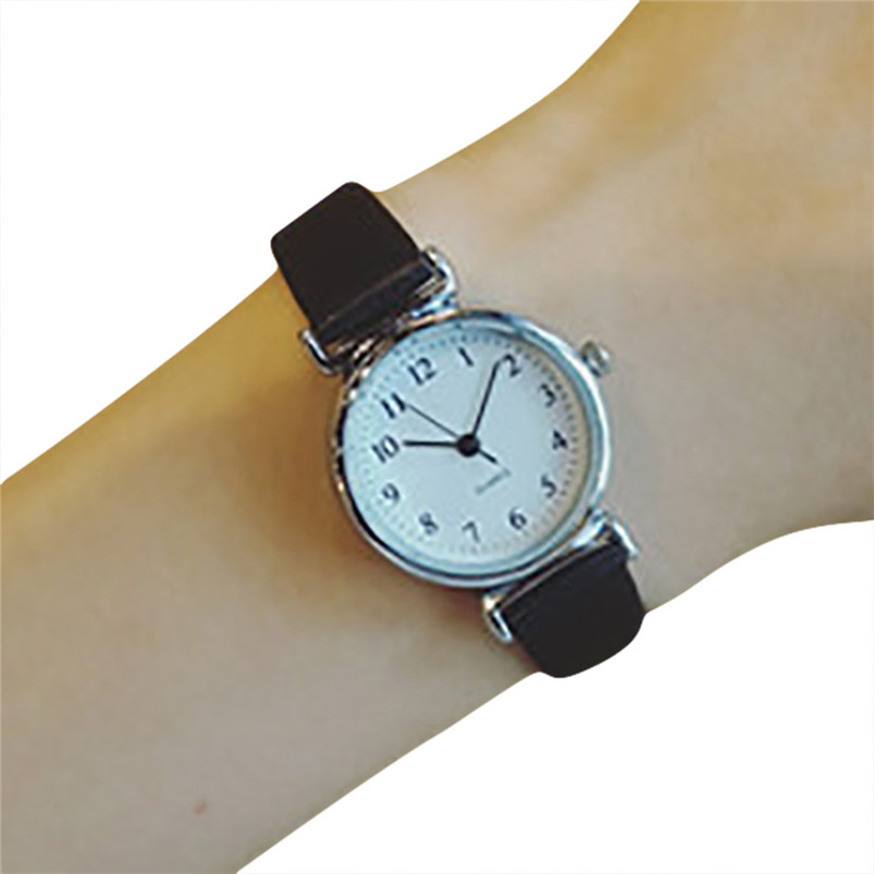 Relogio Feminino Women Causal Watches Fashion Leather Quartz Analog Wrist Small Dial Delicate Watch Luxury Business Watches