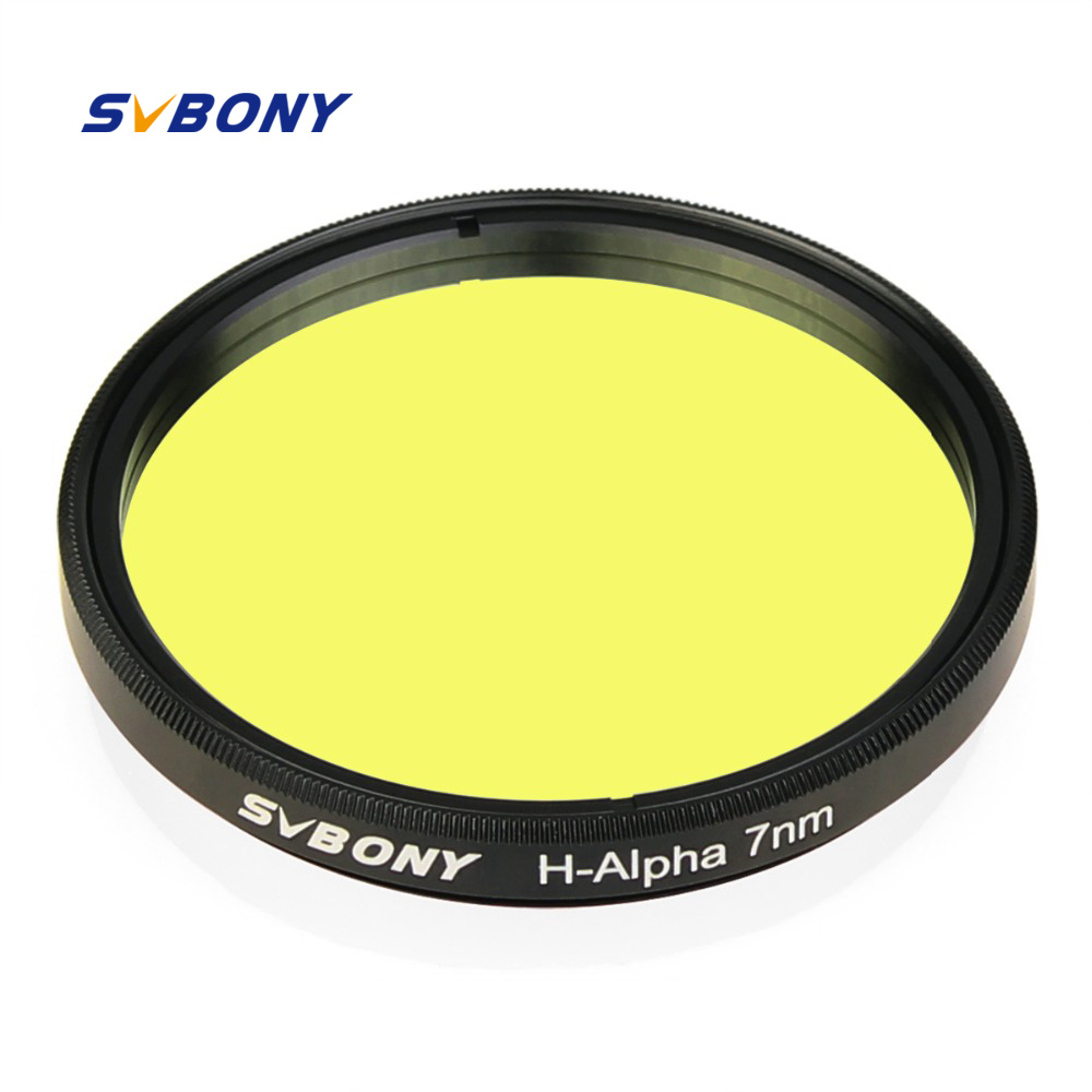SVBONY H Alpha 2 Filter 7nm Narrowband Astronomical Telescope Professional Astronomy Photographic CCD Filter for Deep
