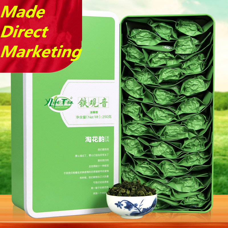 Hot Sale 2016 Top Grade Chinese Anxi Tieguanyin Tea 250g Tie Guan Yin Tea font b