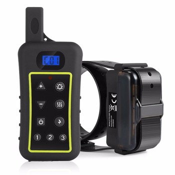 buy High quality Remote 2 in 1 Auto Anti bark Collar PTS 1200 dog training collar for walking