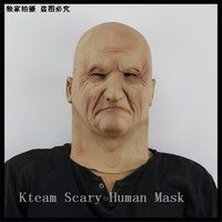Halloween Funny Scary Zombie Mummy Full Face Mask With Big Disgusting Nose Evil Alien Ghost Head Horror Masks OldMan Head Mask