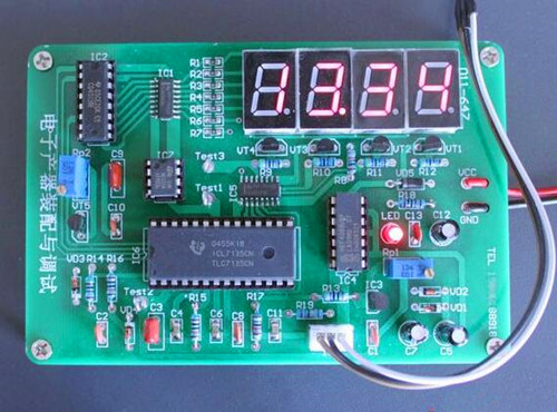 Free Shipping!!! ICL7135 Digital Temperature Meter / Electronics Assembly Competition Kit / Electronics Production Kit (Parts) electronic component