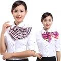 Magia pequeña bufanda cuadrada uniformes de trabajo//azafata/Banco/recepción de las mujeres bufandas